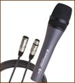 PA-Verleih Freiburg - Tontechnik mieten - kabelgebundenes Mikrofon ausleihen